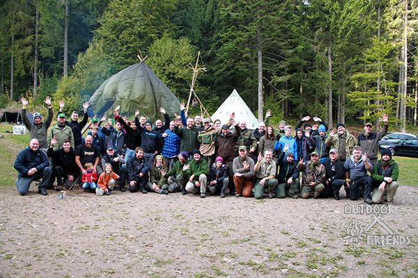 Bushcraft Akademie 2015